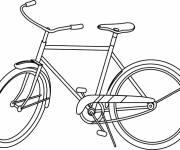 Coloring pages Carving bicycle