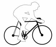 Coloring pages City bike