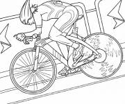 Coloring pages Indoor cycling