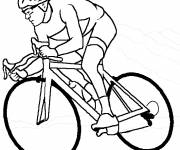 Free coloring and drawings Maternal cycling Coloring page