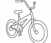 Coloring pages Mountain bike