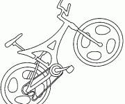 Coloring pages Racing bicycle