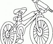 Coloring pages Sport mountain bike