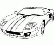 Free coloring and drawings Free Auto racing online Coloring page