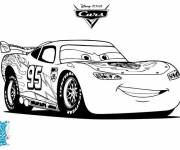 Coloring pages Cars Flash Macqueen