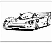 Coloring pages Luxury sports car