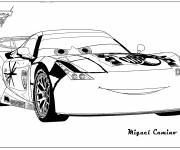 Coloring pages Miguel Camino race auto