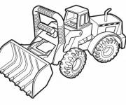 Coloring pages Bulldozer to download