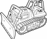 Coloring pages Color tonka