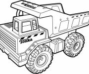 Coloring pages Tonka online