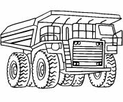 Coloring pages Tonka truck online