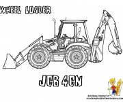Coloring pages Wheel loader