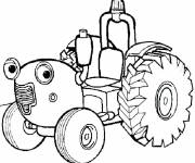 Coloring pages Cartoon tom tractor