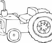 Coloring pages Claas tractor