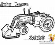 Coloring pages Cutting backhoe loader