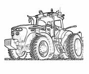 Coloring pages Fendt tractor online