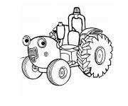 Coloring pages Magic tom tractor