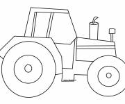 Coloring pages Single tractor