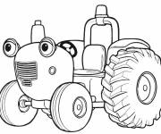 Coloring pages Tom tractor