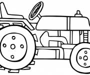 Coloring pages Vector tractor