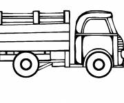 Coloring pages Color truck
