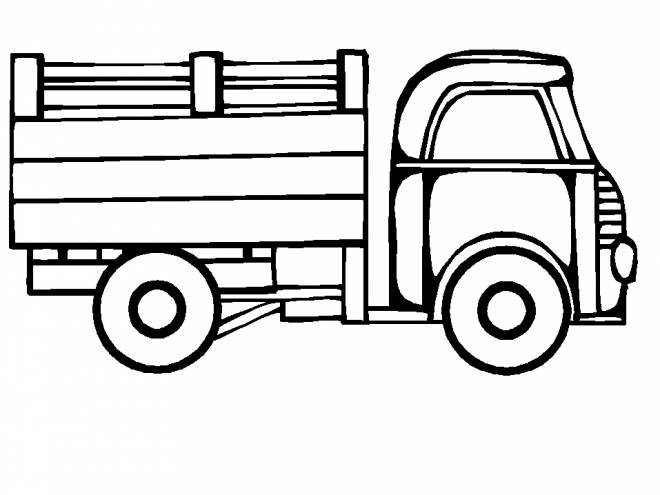 Free printable Trailer coloring pages