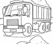 Coloring pages Truck online