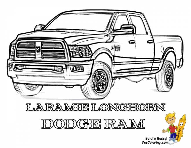 Free coloring and drawings Box easy Coloring page