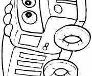 Free coloring and drawings Box online Coloring page