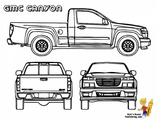 Free coloring and drawings Box to print Coloring page