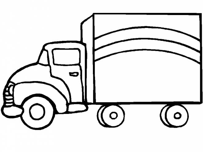 Free coloring and drawings Pickup for free Coloring page