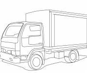 Coloring pages Pickup truck