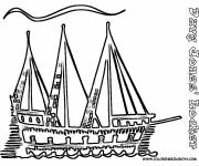 Coloring pages Artistic ship