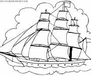 Coloring pages Coloring Pirate Ship