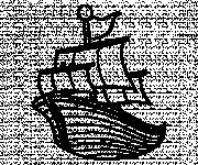 Coloring pages Maternal fishing vessel