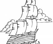 Coloring pages Maternal ship