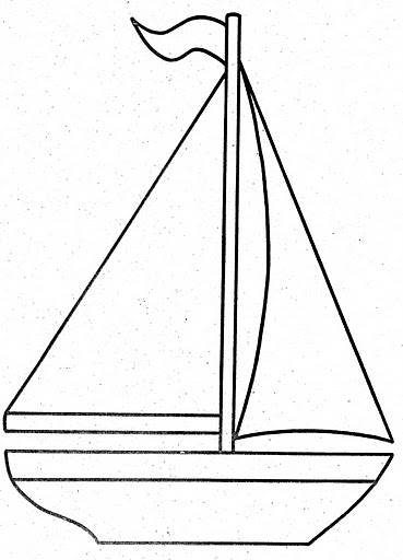 Free coloring and drawings Sailing of a Ship Coloring page