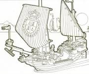 Free coloring and drawings The Pirates Lego City Coloring page