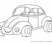 Coloring pages Automobile Beetle