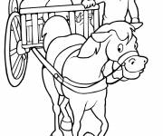 Coloring pages Wagon for agriculture