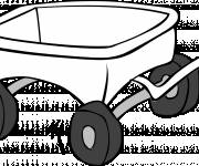 Coloring pages Wagon to color