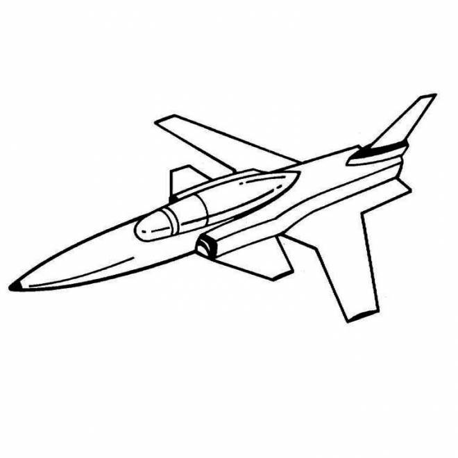 Free coloring and drawings French fighter plane Coloring page