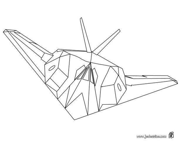 Free coloring and drawings Ghost Fighter Plane Coloring page