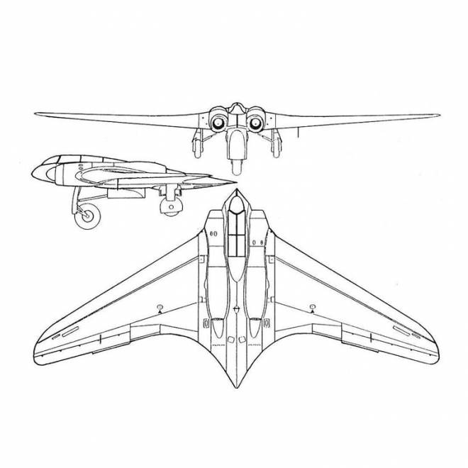 Free coloring and drawings Modern Fighter Plane Coloring page