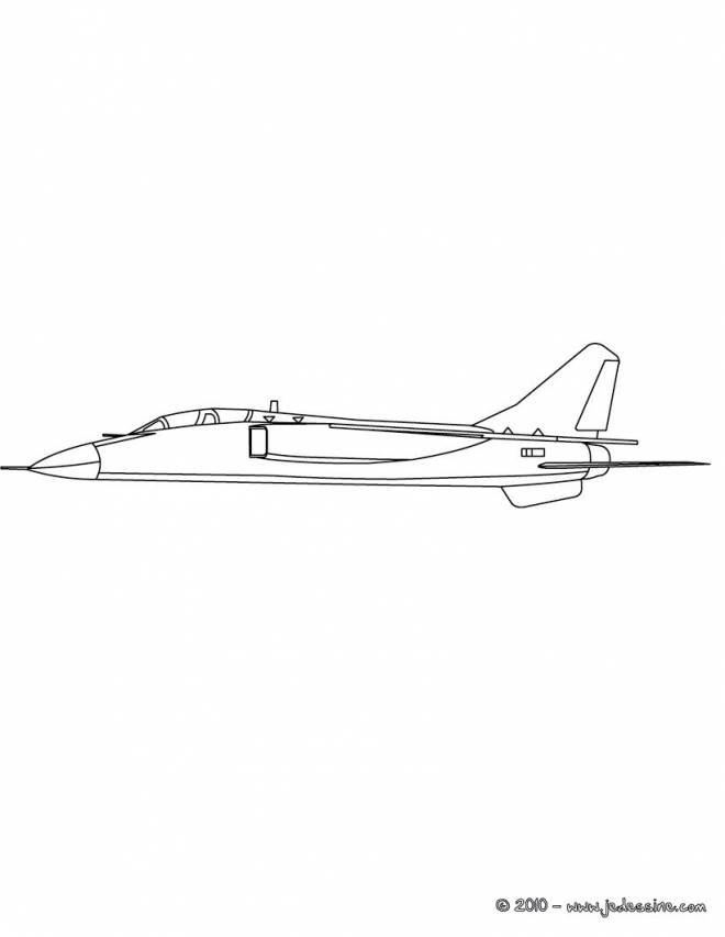 Free coloring and drawings Realistic War Plane Coloring page